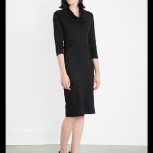 Prairie Underground M Denim Day dress black